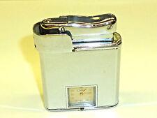 COLIBRI MONOPOL AUTOMATIC WATCH LIGHTER - FEUERZEUG MIT UHR -1955 - ENGLAND-RARE