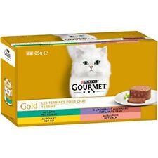 Gourmet Gold les Terrines Repas pour Chat adulte 4 x 85