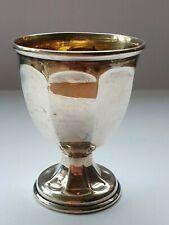 Solid Silver Egg Cup By Levi & Salaman Birmingham 1942