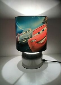 Disney Cars  Touch lamp - 3 settings boys bedroom night light (handmade)