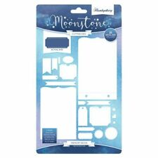 Hunkydory Moonstone - Memory Book Die Set - Make Photo Albums Scrapbooks Journal