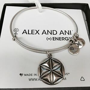 """ALEX AND ANI """"APHRODITE'S FLOWER"""" CHARM BRACELET IN RUSSIAN SILVER"""" NWT!"""