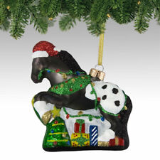 Appy Holidays Glass Painted Pony Ornament