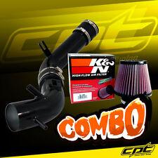 10-12 Ford Fusion 2.5L 4cyl Black Cold Air Intake + K&N Air Filter