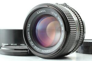 [NEAR MINT W/ Hood] Canon New FD NFD 50mm f1.4 Standard Lens BS-52 Japan #414