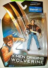 "WOLVERINE ( 4"") VHTF ( WALMART ONLY ) 2009 ( X-MEN ORIGINS) MARVEL ACTION FIGURE"