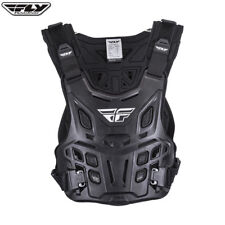 fly revel adult one size roost chest protector motocross enduro black