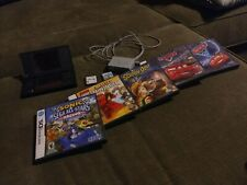 Nintendo DS Black Lot w/ Seven Games Charger & Stylus