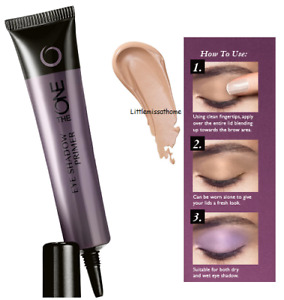 ORIFLAME THE ONE EYE SHADOW PRIMER nude shade eyelid blend matte finish look