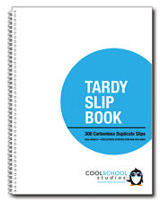 Tardy Slip Book - 2-Part Carbonless - Cool School Studios