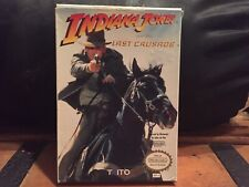 Indiana Jones and the Last Crusade Nes Nintendo Complete In Box