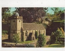 The Church Model Village Bourton On The Water [Salmon 2555c] 1968 Postcard 900a