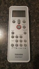 Carrier Toshiba ductless split remote. New