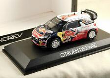Citroen DS3 WRC-Rallye du Portugal 2011 S. Ogier - 1:43 NOREV 155352-Neuf