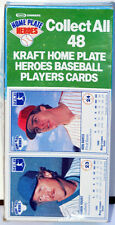 1987 Kraft Spiral Macaroni & Cheese ROBIN YOUNT & VON HAYES Cards Complete Box