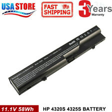 Battery for HP 420 421 620 625 ProBook 4320s 4325S 4520s 4525s PH06 593572-001