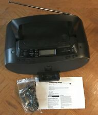 Sony ZS-S2iP CD MegaBass Boombox with iPod Dock Black