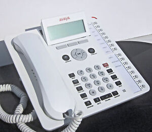 LOT of 5 - Telephone Painting Service in White for Avaya 1416 digital phone