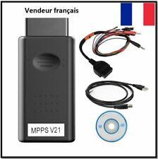 MPPS V21+Tricore + Multiboot ECU Moteur Multimarques en Français