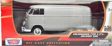 VW T1-2 Transporter Gris Escala 1:24 Von Motormax
