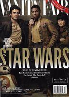 Star Wars The Last Jedi Vanity Fair Magazine Oscar Isaac John Boyega Marie Tran
