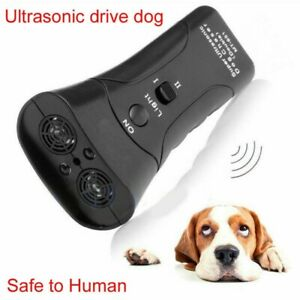 Pet Dog Anti Barking Tool Ultrasonic Puppy Stop Training Repeller Trainer Device