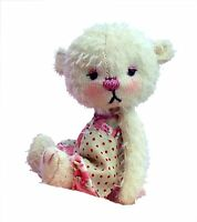 "Megan-Lou 4"" soft toy teddy bear sewing pattern by pcbangles."