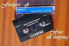 SUPER SONY V8-6CLD Video 8 - 8mm - Hi8 & Digital 8 Head Cleaning Tape/ Cassette