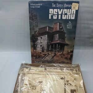 1998 Polar Lights 5028 THE BATES MANSION PSYCHO Model OPEN BOX- SEALED CONTENTS