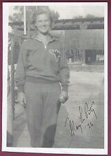 Mary Lou Petty, US Olympic Swimmer, Signed Photo, COA, UACC RD 036