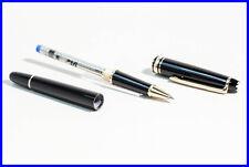 Montblanc # 163 Classique Roller Ball Pen MASTERPIECE w fresh refill in