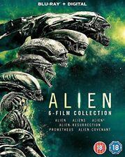 Alien: 6-Film Collection [Blu-ray] [2017] [DVD][Region 2]