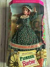 Vintage Mattel 1994 Collectors Edition American Stories Pioneer Barbie Doll