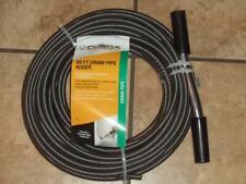 """New Cobra Tools 50 Foot Drain Pipe Auger 3/8"""" Diameter Drains Clogs Snake Clean"""
