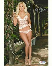 Kayla Collins Signed 8x10 Photo PSA/DNA COA Playboy Playmate Picture Autograph 5