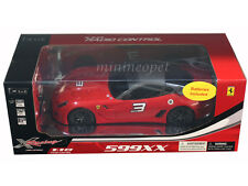 XQ 1187 R/C RADIO REMOTE CONTROL CAR FERRARI 599 XX #3 1/18 RED
