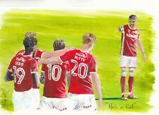 Barnsley FC Print 'He's a Red' by Neil Richardson