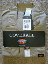 NWT Dickie's Men's Short Sleeve Work Uniform Coverall Sz Large L