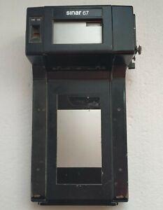 SINAR :  67 BACK  Roll Film Holder 120 220 on 4x5 10x12 camera