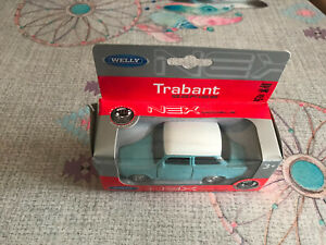 Voiture Miniature Trabant 601 Welly 43654 1/34-39