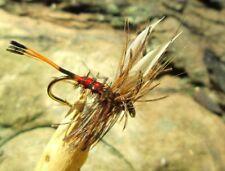 Fliegenfischen 4 Trockenfliegen HEXE GILCHRIST FLIEGEN 5 Größen zur Auswahl