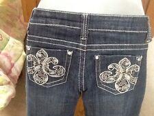 NWT! Womens Size 3 ZIPPER Premium Jeans Bootcut