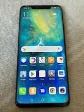 Huawei Mate 20 Pro - Black - 2 FREE Cases - Slightly Cracked Screen
