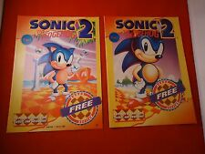 Sonic the Hedgehog 2 Sega Genesis Gamepro Strategy Player's Guide Part 1&2 RARE