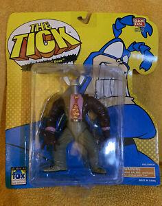 "BANDI 1994 NIB The TICK - ""DEATH HUG""Dean Action Figure  Evil Doers."