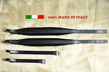 Accordéon bretelles sangles courroies cuir rembourrage large velours 6 cm DELUXE