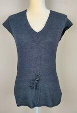 Bcbg Maxazria Women's Charcoal Gray Angora Blend Top sz L