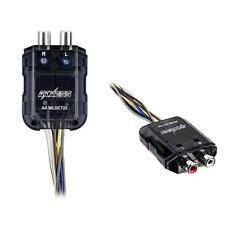 Axxess AX-MLOC725 Mini 2-CH 150 W Max Line Output Converter Signal Sense Turn-On