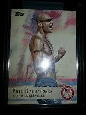 2012 Topps Olympics Phil Dalhausser (Beach Volleyball) Autograph card No. 45