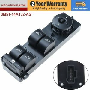 3M5T14A132AG  NEW Electric Power Master Window Switch For  Ford Focus Mk2 C-Max